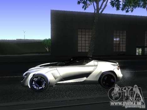 Bertone Mantide pour GTA San Andreas laissé vue