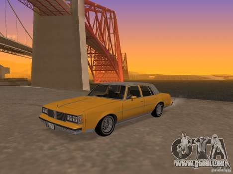 Oldsmobile Cutlass v2 1985 pour GTA San Andreas