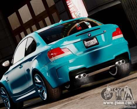 BMW M1 2011 v1.0 pour GTA 4 Vue arrière de la gauche