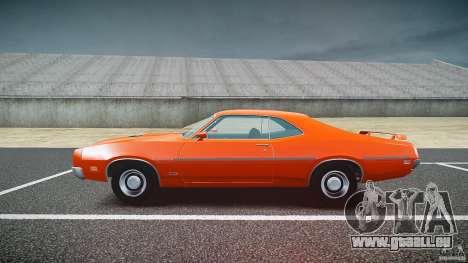Mercury Cyclone Spoiler 1970 pour GTA 4 est une vue de l'intérieur