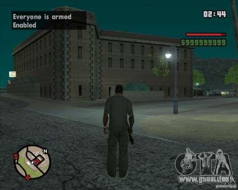 CJ-maire pour GTA San Andreas septième écran