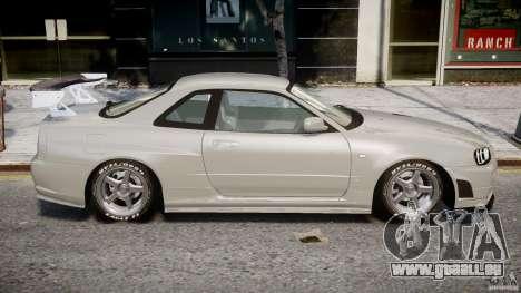 Nissan Skyline R34 Nismo für GTA 4 Innenansicht