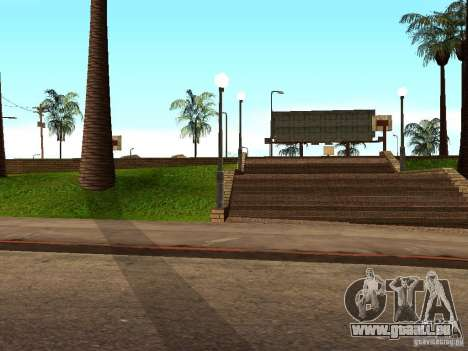 Dem neuen Basketballplatz in Los Santos für GTA San Andreas fünften Screenshot