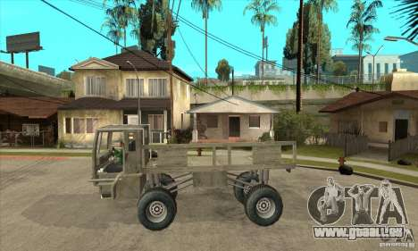 Fast Five Sand King für GTA San Andreas linke Ansicht
