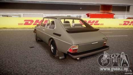 SAAB 99 Turbo 1978 für GTA 4 hinten links Ansicht