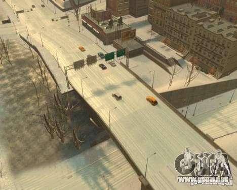 Pluie verglaçante pour GTA 4 troisième écran