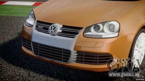 Volkswagen Golf R32 v2.0 pour GTA 4 est une vue de l'intérieur