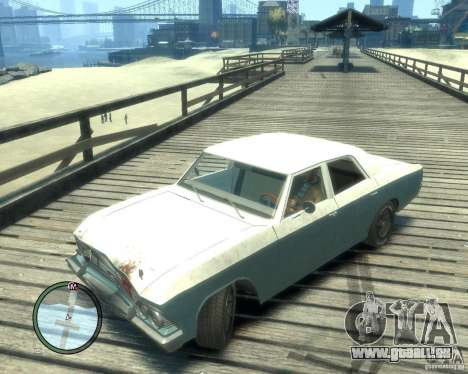 Chevrolet Chevelle 1966 pour GTA 4 est un côté