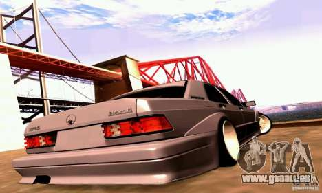 Mercedes-Benz 190E Drift pour GTA San Andreas vue de droite
