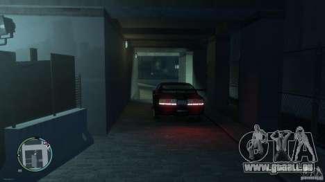Ford Mustang GTR pour GTA 4 Vue arrière de la gauche