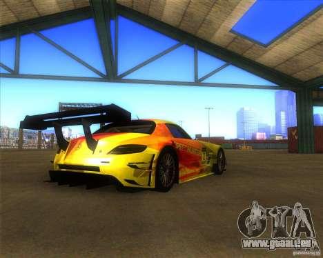 Mercedes SLS AMG - SpeedHunters Edition für GTA San Andreas linke Ansicht