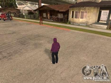 Hotte pour GTA San Andreas deuxième écran