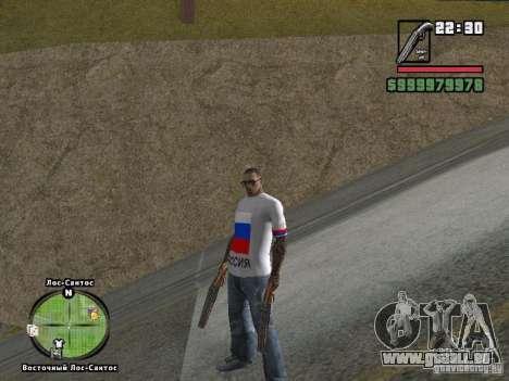Football Russie pour GTA San Andreas cinquième écran