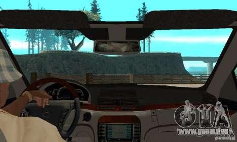 Mercedes Benz AMG S65 DUB pour GTA San Andreas vue de droite