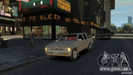 Nissan Pick-Up 1997 für GTA 4