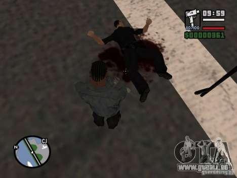Neues Muster des Blutes für GTA San Andreas
