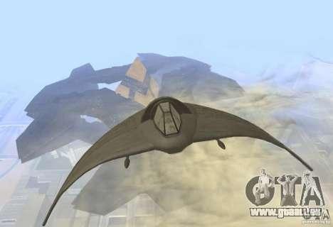 Death Glider für GTA San Andreas linke Ansicht