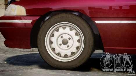 Mercury Tracer 1993 v1.0 für GTA 4 Räder