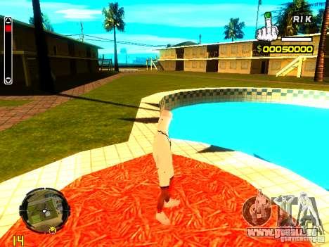 Haut Penner v9 für GTA San Andreas fünften Screenshot