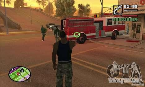 Neue Sicht für GTA San Andreas sechsten Screenshot