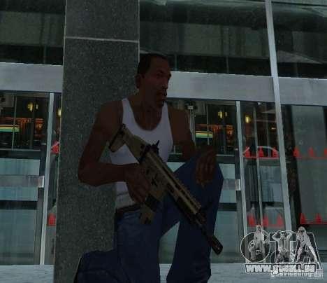FN Scar L für GTA San Andreas zweiten Screenshot