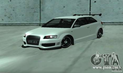 Audi S3 Full tunable pour GTA San Andreas