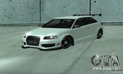 Audi S3 Full tunable pour GTA San Andreas