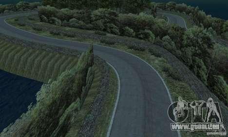 L'itinéraire du rallye pour GTA San Andreas dixième écran