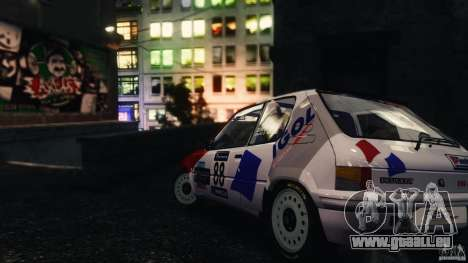 Peugeot 205 Rally für GTA 4 linke Ansicht