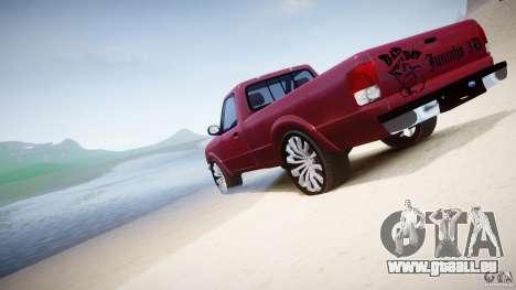 Ford Ranger pour le moteur de GTA 4