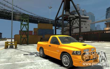 Dodge Ram SRT-10 v.1.0 pour GTA 4 Vue arrière