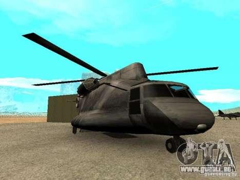 New Cargobob pour GTA San Andreas