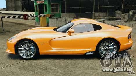 SRT Viper GTS 2013 für GTA 4 linke Ansicht