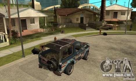 Blaster XL from FlatOut2 pour GTA San Andreas vue de droite