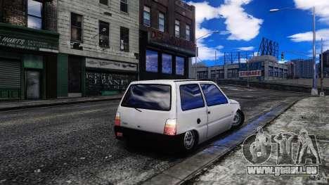 VAZ 1111 Oka pour GTA 4 Vue arrière de la gauche