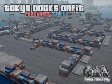 Tokyo Docks Drift pour GTA 4