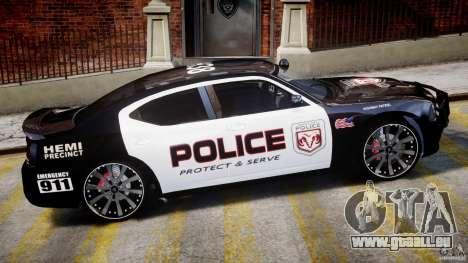 Dodge Charger NYPD Police v1.3 pour GTA 4 est une vue de dessous