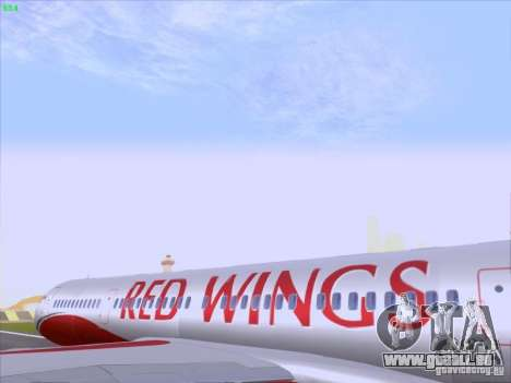 Tupolev Tu-204 Red Wings Airlines für GTA San Andreas Innenansicht