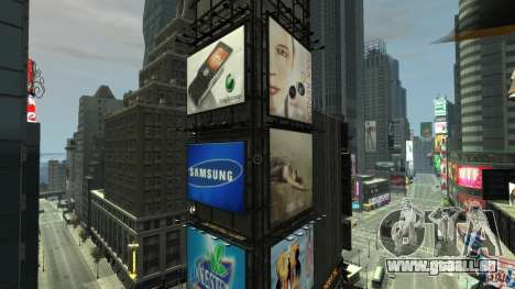 Real Time Square mod für GTA 4 dritte Screenshot