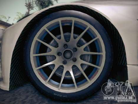BMW 320SI Drift für GTA San Andreas Motor