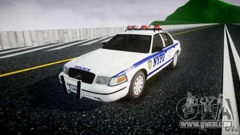 Ford Crown Victoria Police Department 2008 NYPD für GTA 4 rechte Ansicht