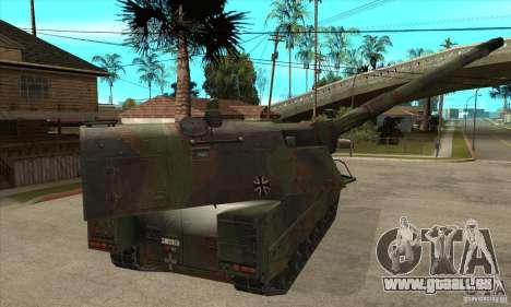 Panzerhaubitze 2000 pour GTA San Andreas vue de droite