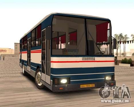 Autosan H10-11B pour GTA San Andreas vue arrière