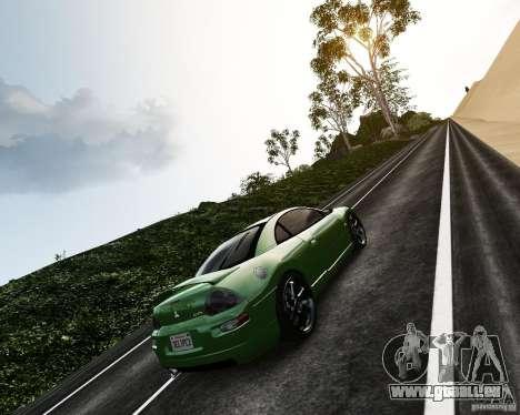 Mitsubishi Eclipse GT-S für GTA 4 Rückansicht