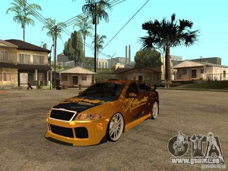 Skoda Octavia II Tuning pour GTA San Andreas
