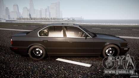 BMW 5 Series E34 540i 1994 v3.0 für GTA 4 Seitenansicht