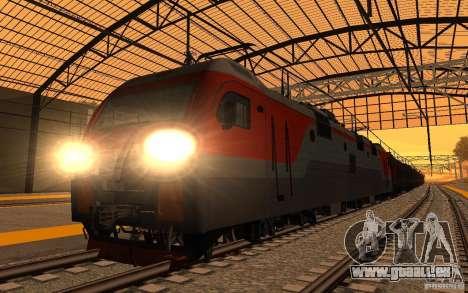Eisenbahn mod II für GTA San Andreas siebten Screenshot