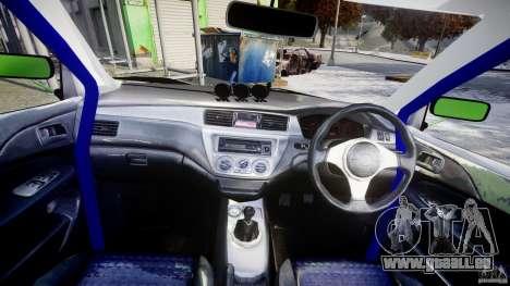 Mitsubishi Lancer Evolution 8 für GTA 4 rechte Ansicht