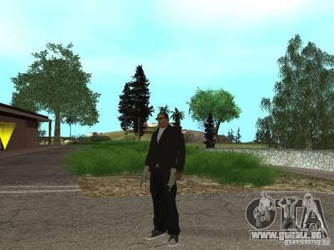 CJ Mafia Skin pour GTA San Andreas troisième écran