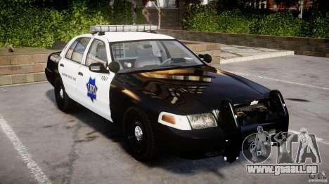Ford Crown Victoria SFPD K9 Unit [ELS] pour GTA 4